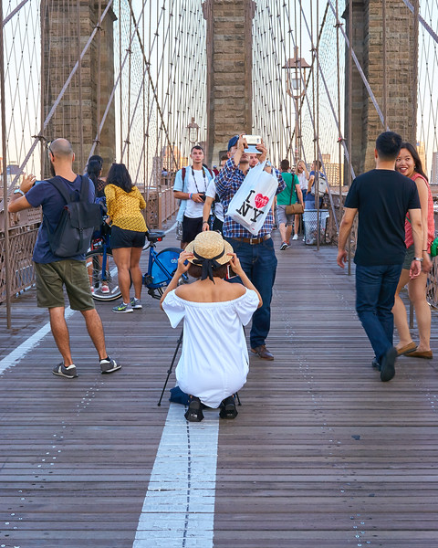 Brooklyn Bridge Pedestrian Walkway