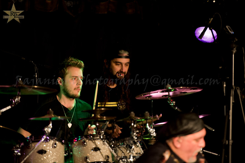 Eric Gillette, Mike Portnoy, and Randy George
