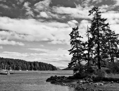Browniong harbour, Pender Island BC, from the boat dock.