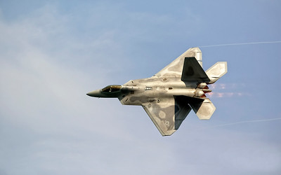 F-22 Raptor at the Ft. Lauderdale Air and Sea Show