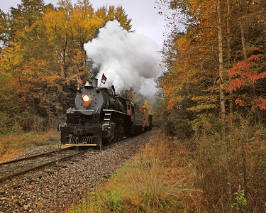 Great Smoky Mountain Railroad Steam Engine 1902