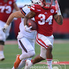 AARON BECKMAN <br /> <br /> LINCOLN  <br /> <br /> Nebraska Cornhuskers vs Illinois<br /> <br /> Nebraska's Terrell Newby runs down field late in the fourth quarter for a 63 yard touchdown against Illinois. Newby finished the game with 140 yards with 27 carries. <br /> The Cornhuskers defeated Illinois 31-16.