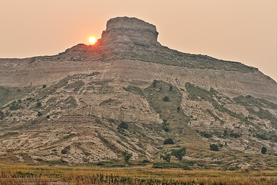 Scotts Bluff National Monument near Scottsbluff Nebraska