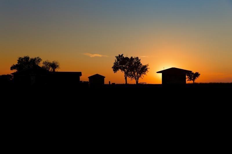 Sunset and Farm, Alliance, NE