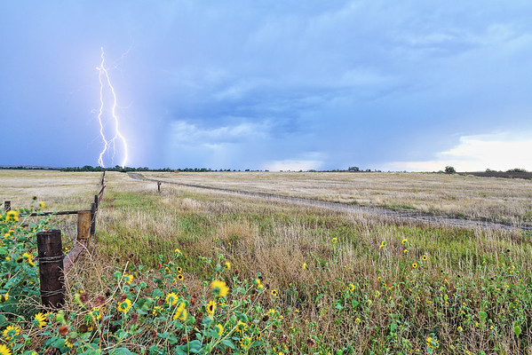 Lightning near Chadron