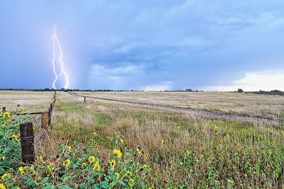 Lightning near Chadron