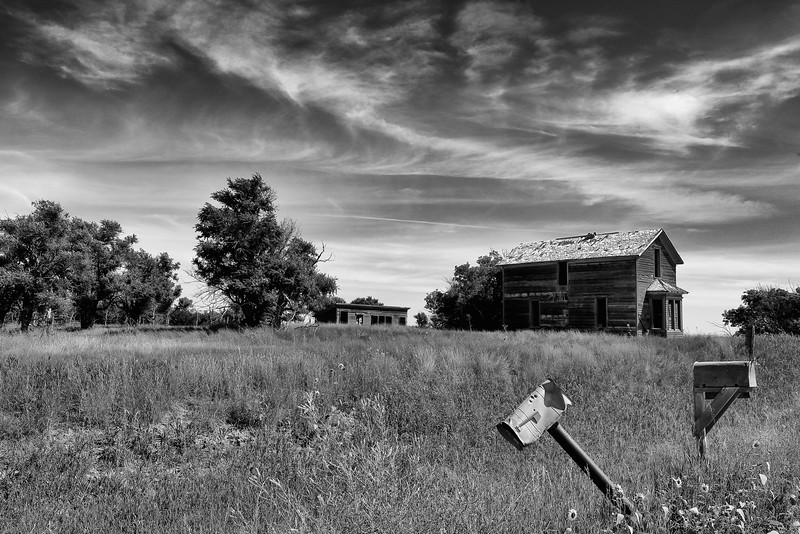 Abandoned Farmhouse, Rushville, NE