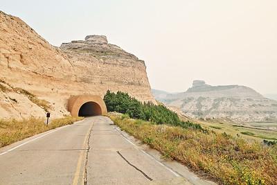 Scotts Bluff National Monument near Scottsbluff Nebraska
