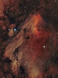Sh2-117 or Pelican Nebula -- Cygnus Constellation