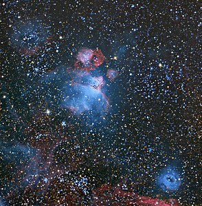 Dragon's head Nebula