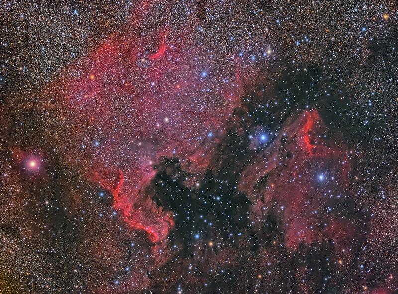 North American Nebula + Pelican Nebula