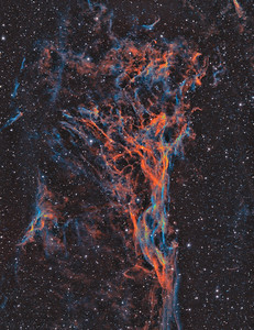 Pickering's Triangle - Veil Nebula -- Cygnus Constellation