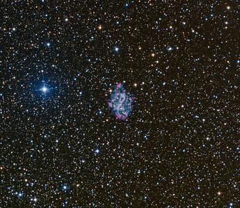 NGC5189  Spiral Planetary Nebula