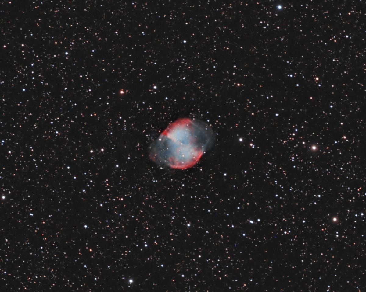 M27 - Dumbbell Nebula -- Vulpecula Constellation