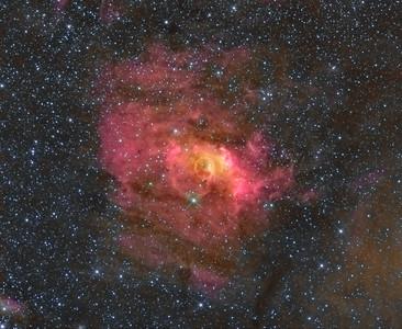 Sh2-162 - Bubble Nebula -- Cassiopeia Constellation