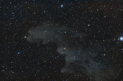 The Witch's Head Nebula