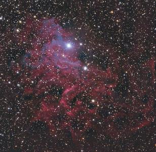 IC 405 Flaming Star Nebula -- Auriga Constellation