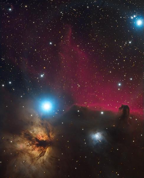 Horsehead Nebula Area