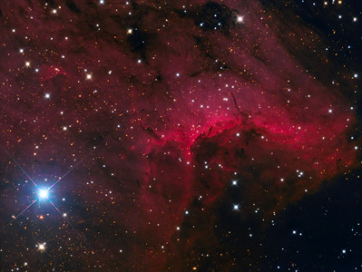 Inside the Pelican Nebula