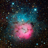 Triffid Nebula - M20