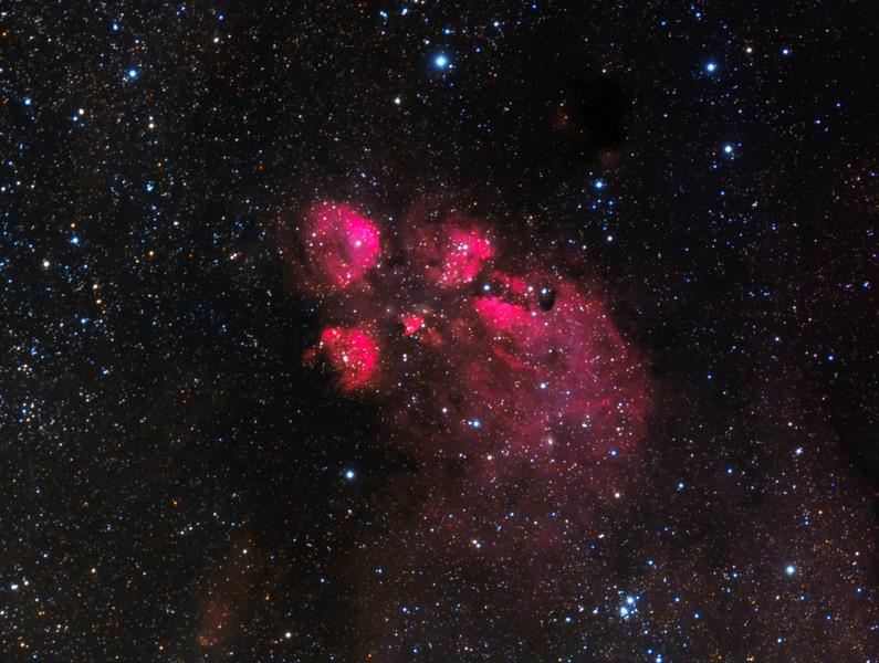 Cat's Paw Nebula - NGC6334