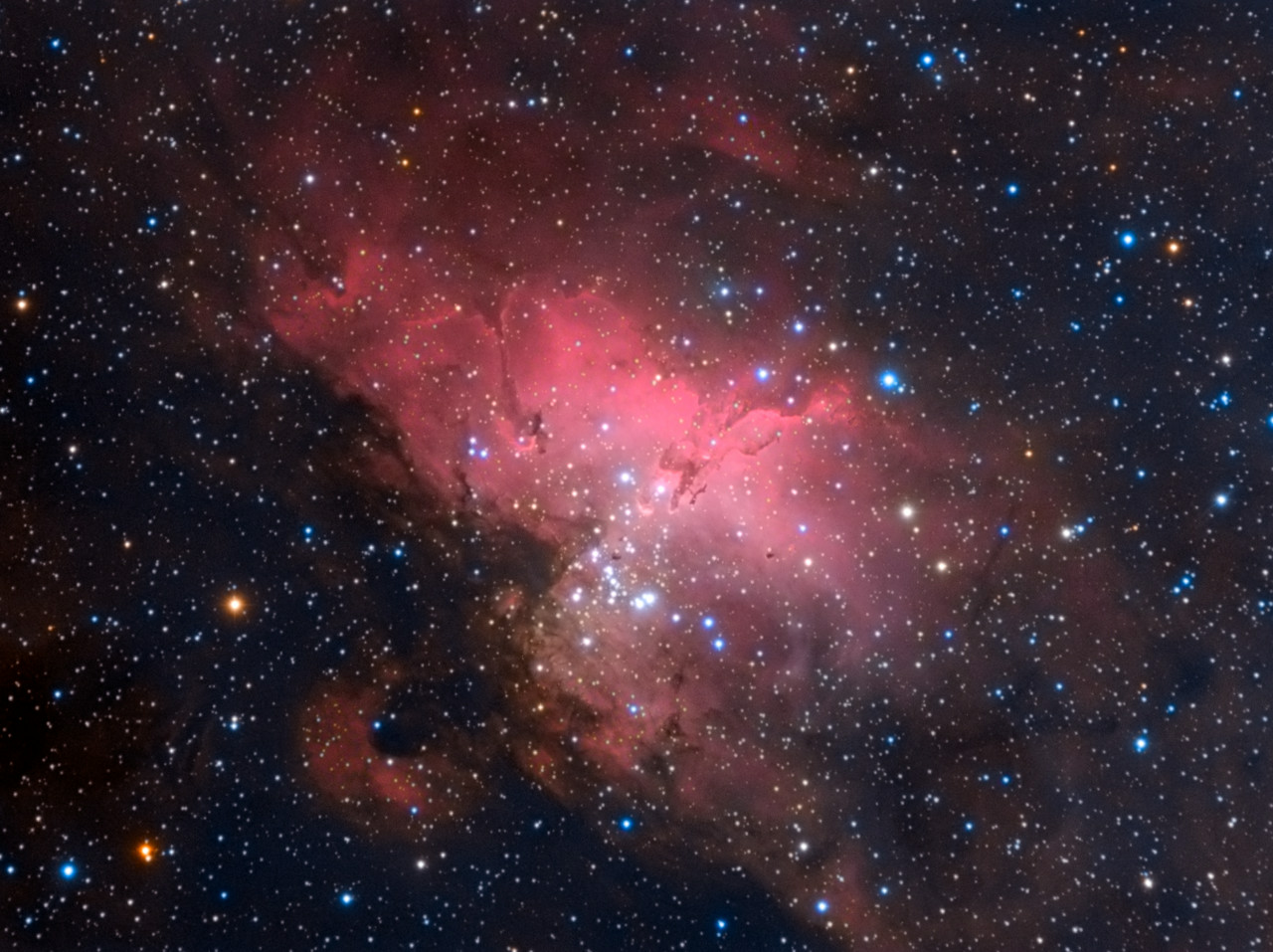 The Eagle Nebula - M16