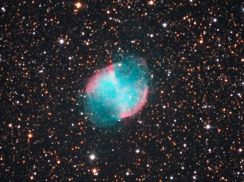 Dumbbell Nebula - M27