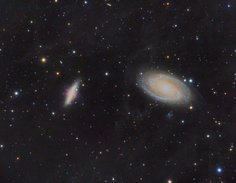 M81, M82 Galaxies and IFN