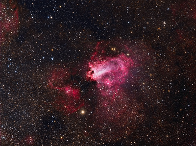 M17 - Omega Nebula in Wide Field