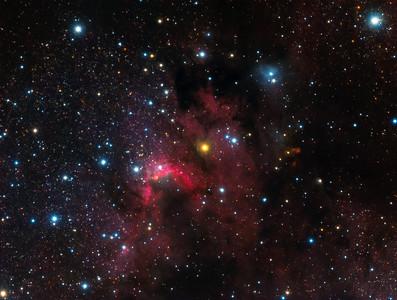Cave Nebula - SH2-155