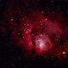 Lagoon Nebula - M008 081609 44x2min 800isoSigAvg ip ps brt lg