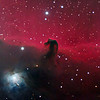 The Horsehead Nebula - Ngc2024 combine2days 1111 111312 10x15min 127mm sb2kc redo