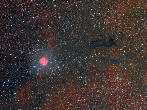 Cocoon Nebula (IC 5146) Wide Field