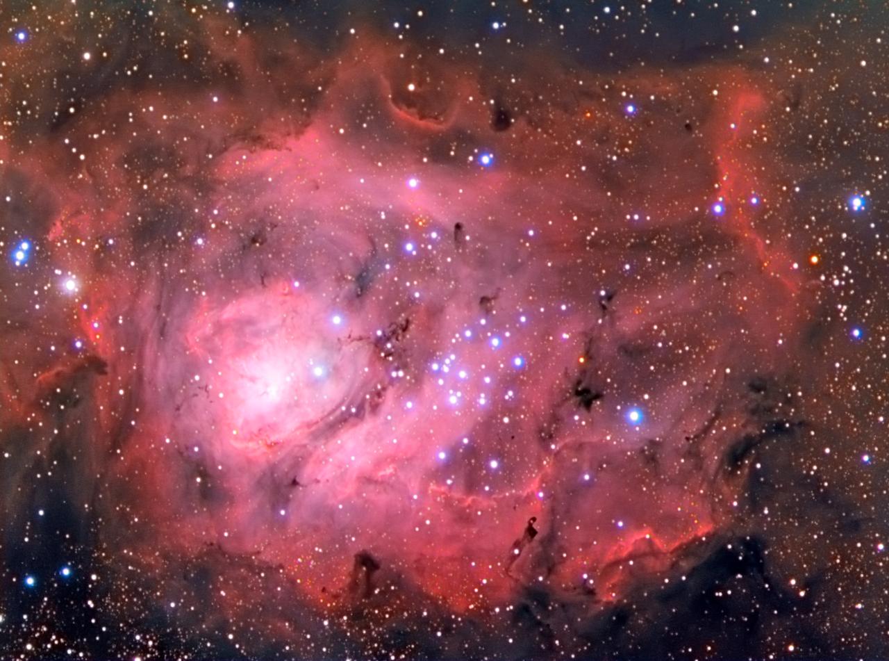 The Lagoon Nebula - M8