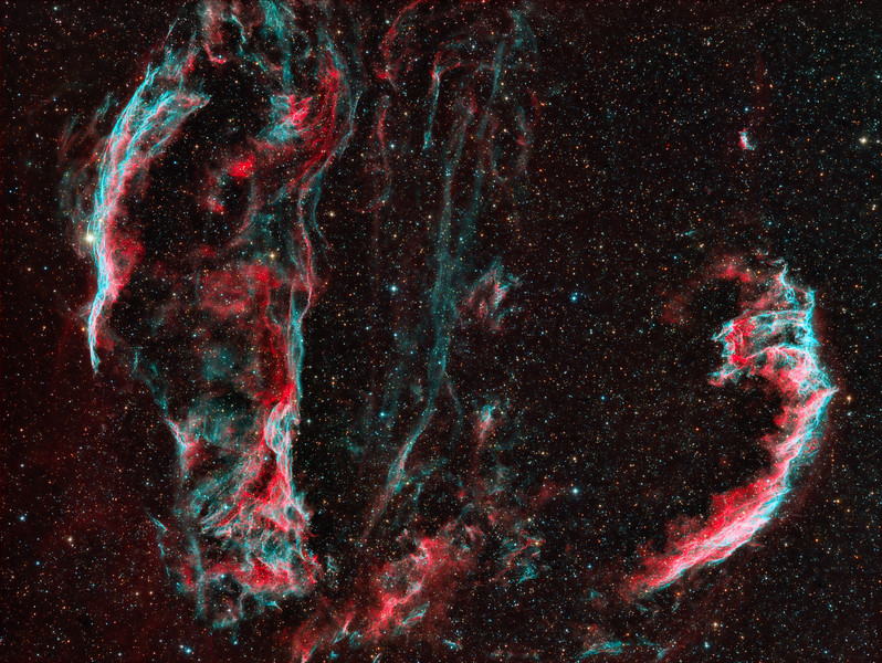 The Veil Nebula Widefield