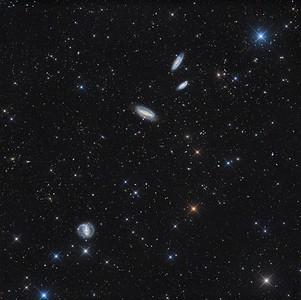 NGC7552, NGC7582, NGC7599, NGC7590  deep field
