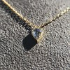 0.58ct Pear Rose Cut Diamond Pendant 21