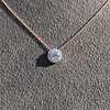 0.70ct Round Brilliant Leo Diamond Pendant 8