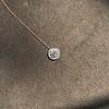 0.70ct Round Brilliant Leo Diamond Pendant 11