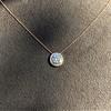 0.70ct Round Brilliant Leo Diamond Pendant 10