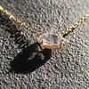 0.78ct Marquise Rose Cut Diamond Pendant 16