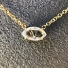 0.78ct Marquise Rose Cut Diamond Pendant 15
