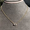 0.78ct Marquise Rose Cut Diamond Pendant 0