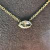 0.78ct Marquise Rose Cut Diamond Pendant 12
