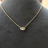 0.78ct Marquise Rose Cut Diamond Pendant 26