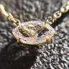 0.78ct Marquise Rose Cut Diamond Pendant 22