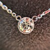 0.85ct Old European Diamond Bezel Pendant 12