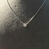 0.85ct Old European Diamond Bezel Pendant 9