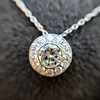 0.93ctw Diamond Filigree Halo Pendant by Steven Kirsch 14