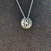0.93ctw Diamond Filigree Halo Pendant by Steven Kirsch 21